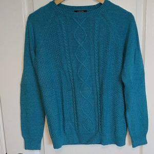 Chaps Preppy Blue Sweater